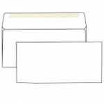 Конверт белый, Е65 (110*220), клей декстрин
