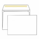 Конверт белый С4 (229*324 мм), прямой клапан, клей декстрин, внутренняя запечатка