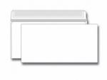 Конверт белый  Е65/DL (110*220), отрывная лента, внутренняя запечатка