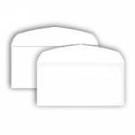 Конверт белый  Е65 (110*220), клапан автомат, клей декстрин
